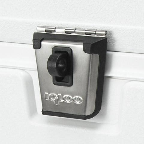 Igloo Marine Elite coolers stainless-steel latch
