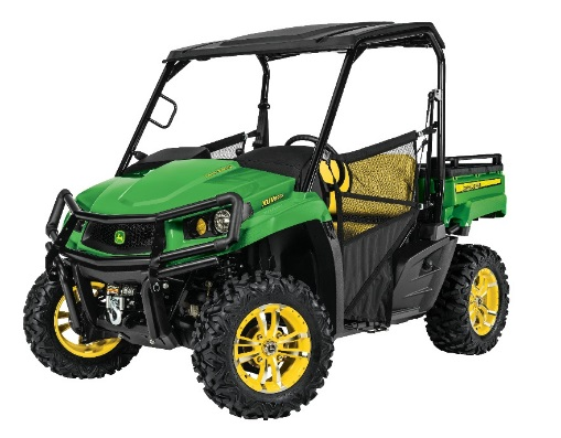 Recalled John Deere utility vehichle