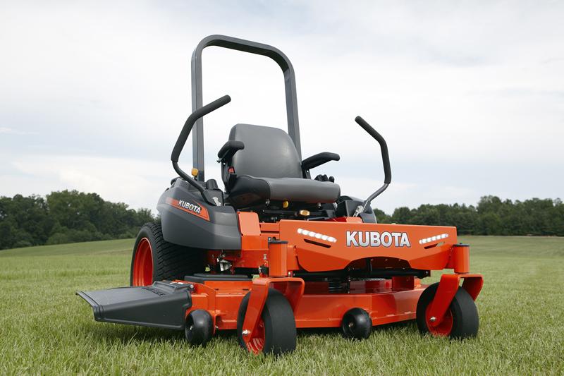Recalled Kubota Zero Turn riding mower