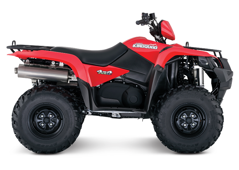 image of KingQuad 750 all-terrain vehicles (ATVs)
