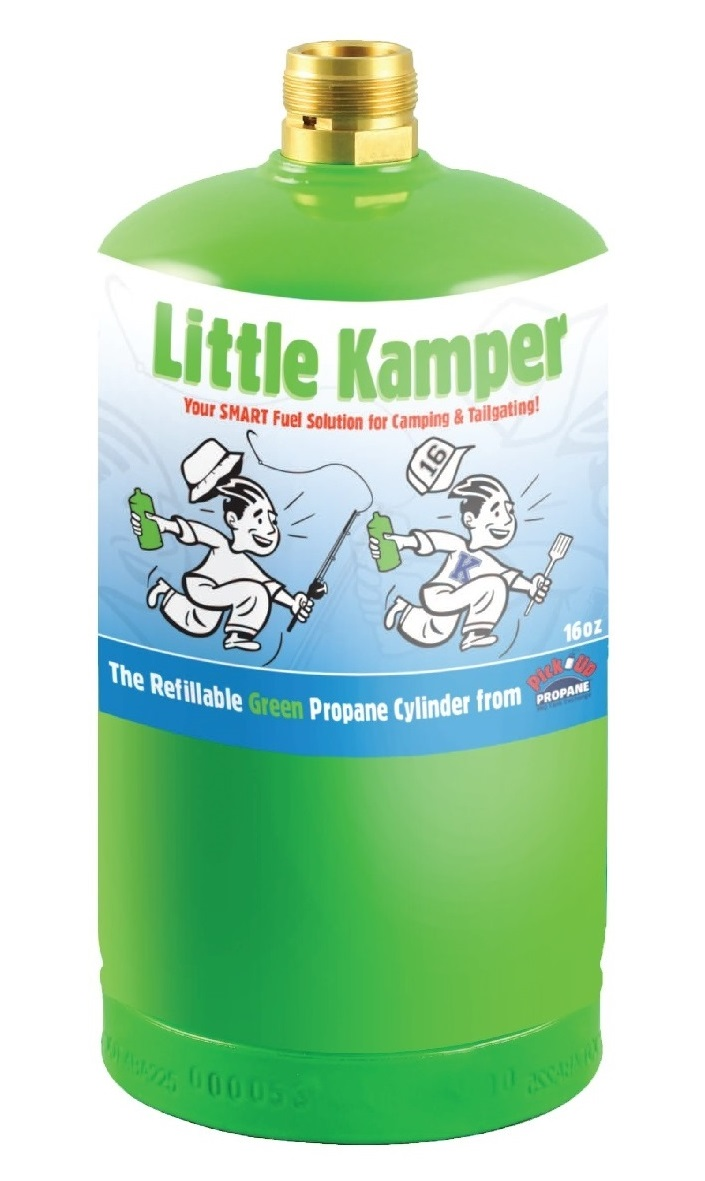 Little Kamper 16 oz. refillable propane cylinder