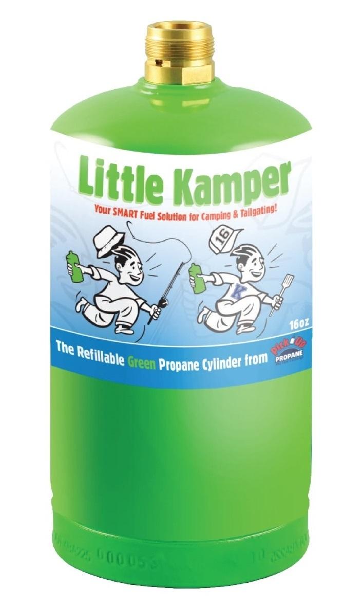 Little Kamper 16 oz. refillable propane cylinder