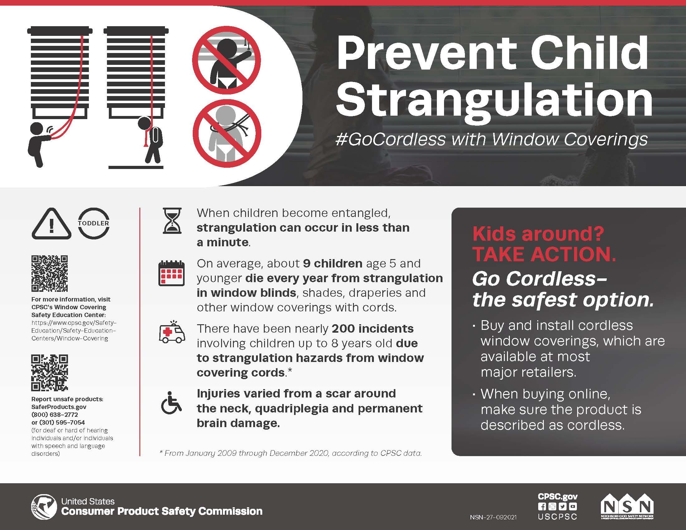 Prevent Child Strangulation
