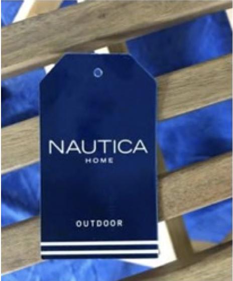 Nautica hang tag