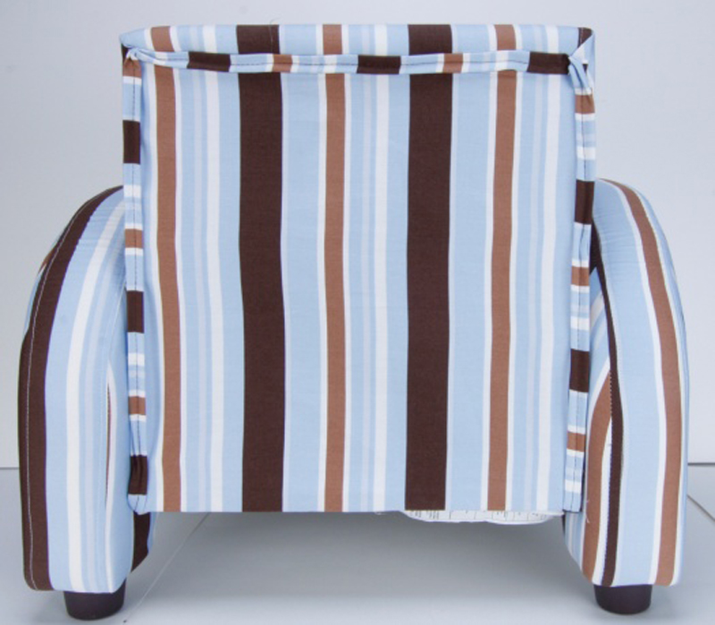 Mod style chair, back view