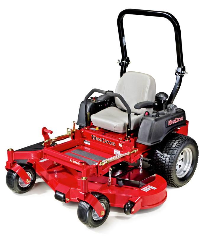 Picture of recalled BigDog X Series lawnmower