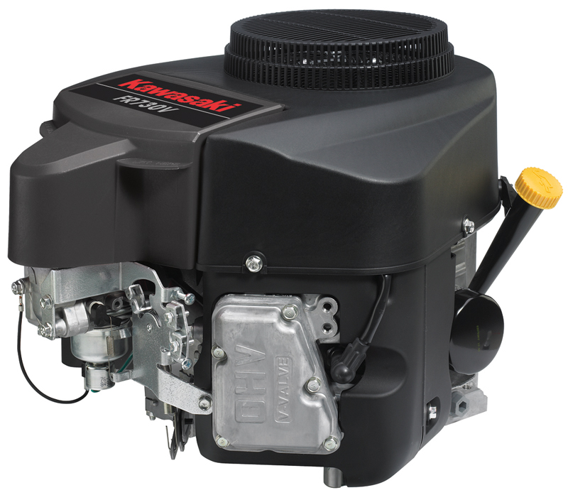 Kawasaki FH, FR, FS and FX series engines used in riding and wide area, walk-behind lawn lawnmowers