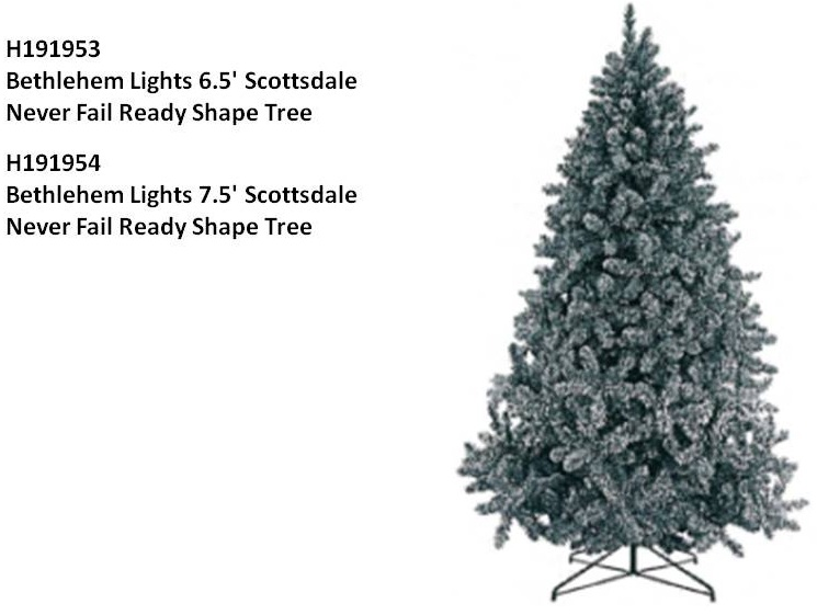 Bethlehem Lights Scottsdale Christmas Tree - Bethlehem Lights Recalls Christmas Trees Sold Exclusively By QVC Due