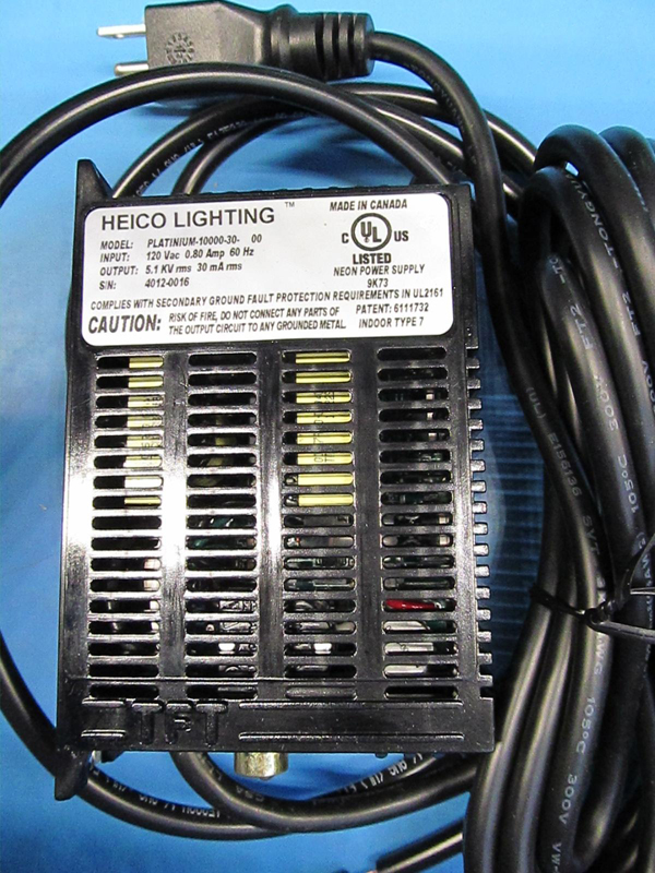 HEICO Lighting power supply transformer, model PLATINUM-10000-30