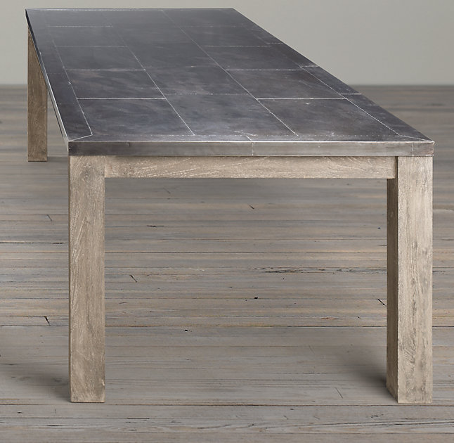 Parsons Railroad Tie Dining Table Part 50