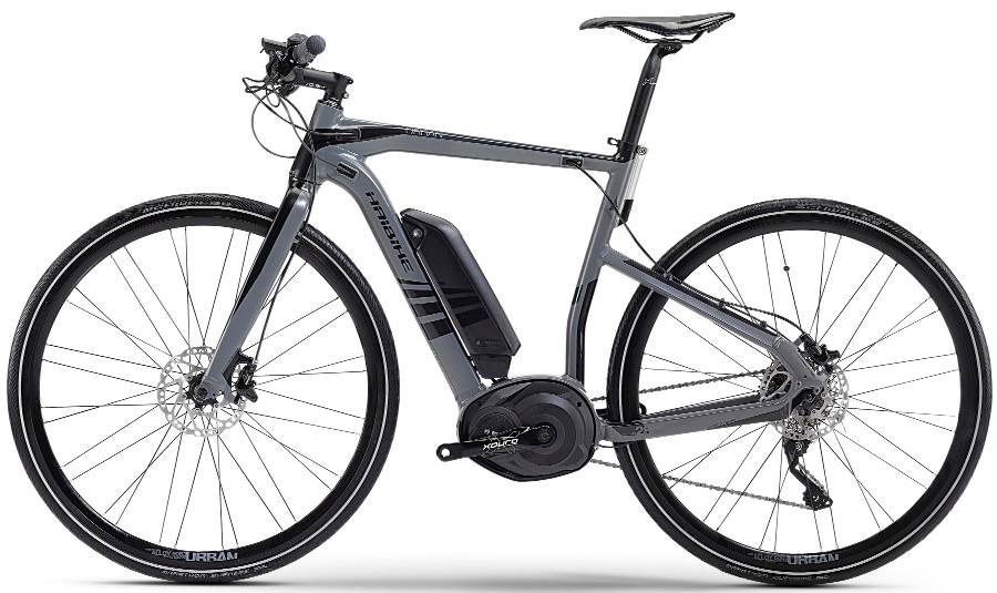 Haibike XDURO Urban model year 2014 electric bicycle