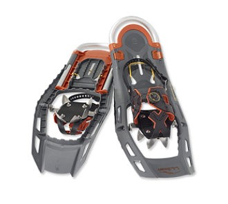 "L.L. Bean Adventure Adjustable Snowshoes 25""-30"" in Carbon Chili"
