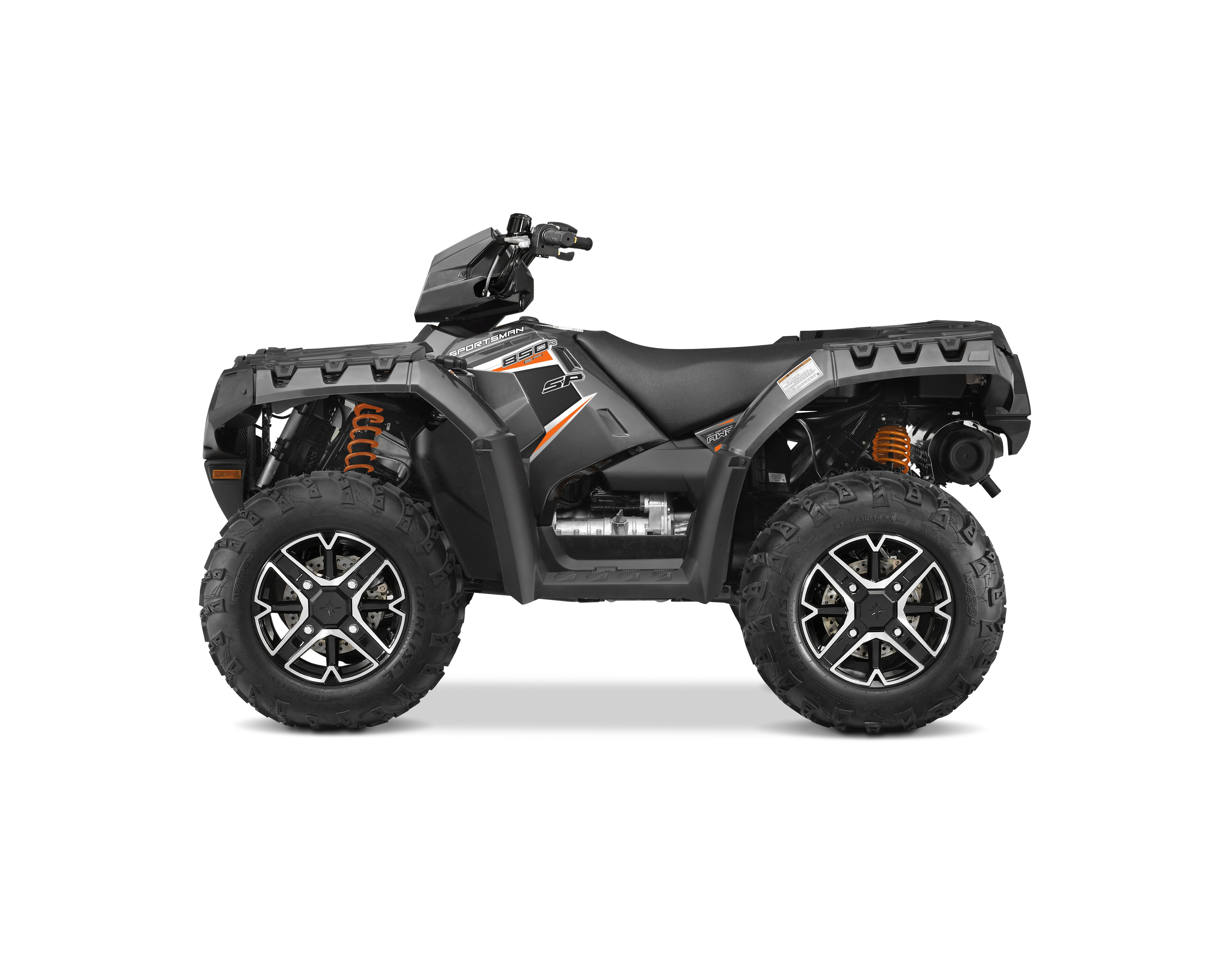 Polaris 2015 Sportsman 850 SP Titanium Matte Metallic