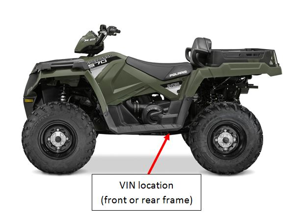 polaris vin number location  polaris  get free image about