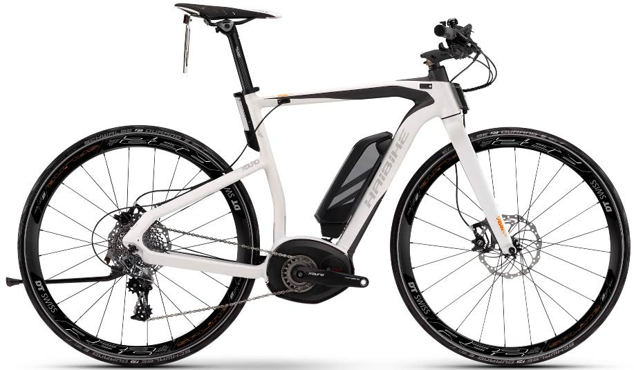 Haibike XDURO Urban S RX model year 2016 electric bicycle