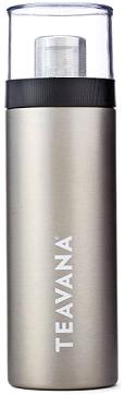 Recalled Teavana flip tumbler in silver