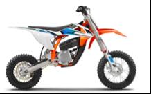 Recalled 2021 KTM SX-E 5 motorcycle
