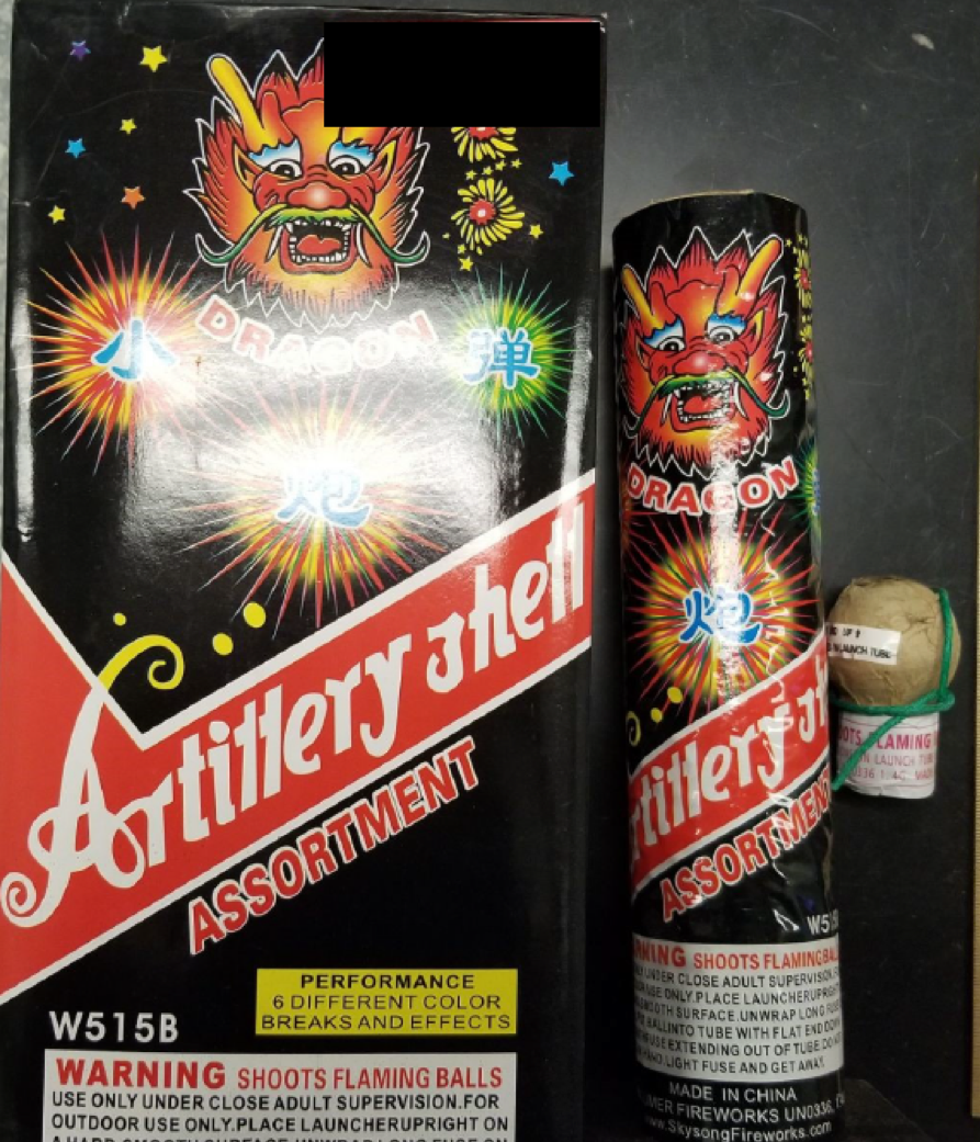 Dragon Artillery Shell (Assorted)