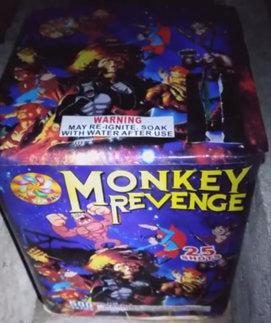 Monkey's Revenge 25 Shot Cake