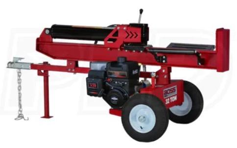 Recalled Boss Log Splitter (model number WD32T)