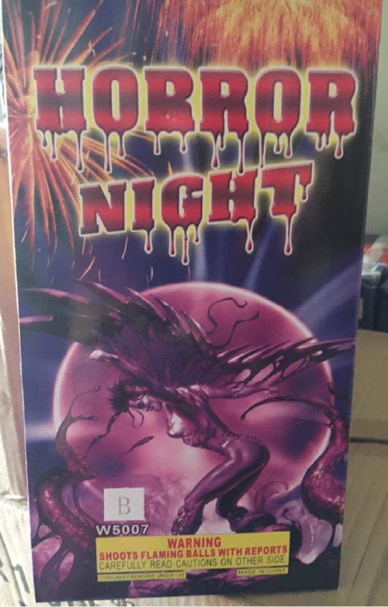 Horror Night Ball Shells