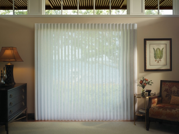 Recalled privacy sheer blinds