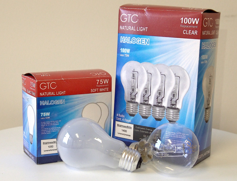 Recalled GTC halogen light bulbs