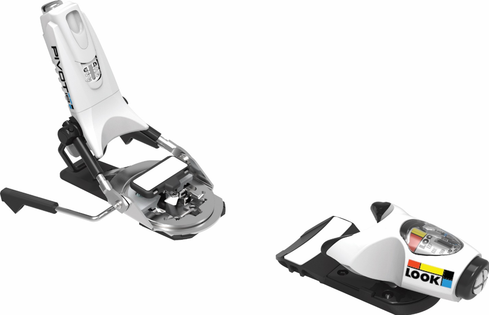 LOOK Pivot ski bindings (also sold in black or yellow)