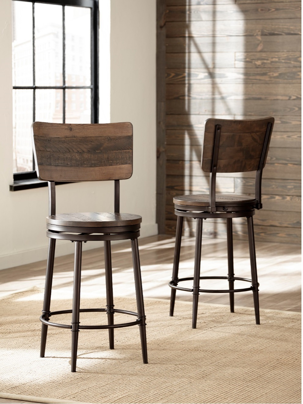 Recalled Jennings Counter Height Stool – Lifestyle View