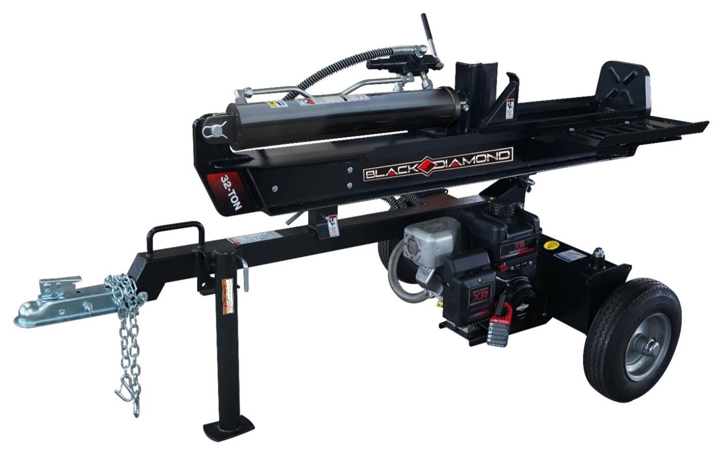 Recalled Black Diamond Log Splitter (model number BDBS32T - 32 ton)