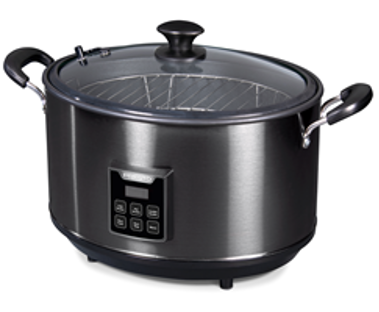 Recalled Presto Indoor Electric Smoker (Model Number: 0601304 (black stainless steel)