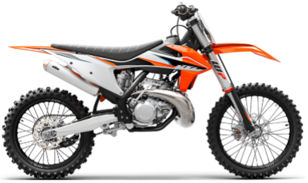 Recalled 2021 KTM 250 SX motorcycle