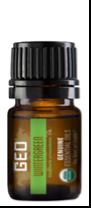 Recalled GEO Wintergreen Organic Essential Oil