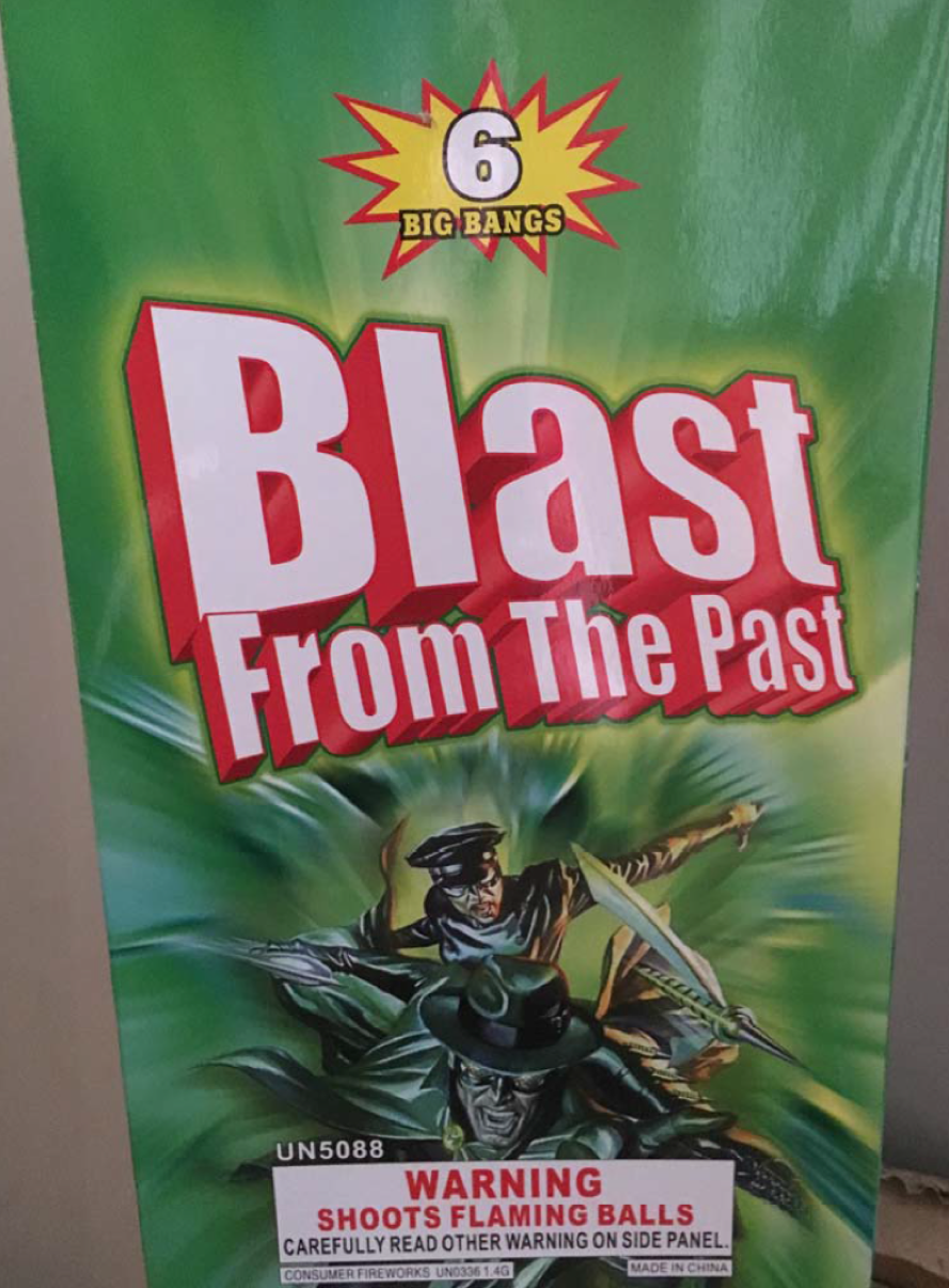 Blast from the Past Shells