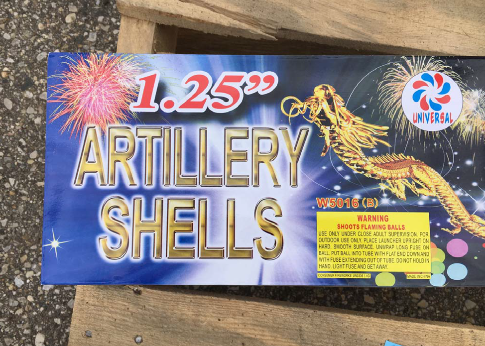 Patriot Pyrotechnics/Bill's Fireworks Recalls Fireworks Due