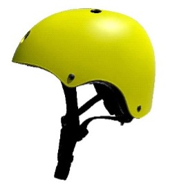 Recalled Bee Free children's helmet -side view