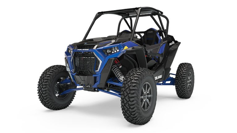 Recalled 2018 Polaris RZR Turbo S in Polaris Blue