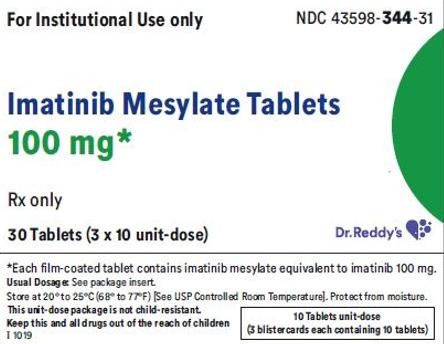 Recalled Dr. Reddy's Imatinib Mesylate Tablets 100 mg