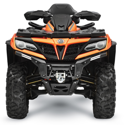 The CFMOTO Logo is located in the center of the front grille