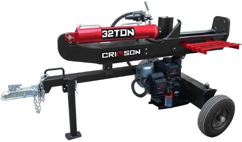 Recalled Crimson Log Splitter (model number YTL-590-012 - 32 ton)