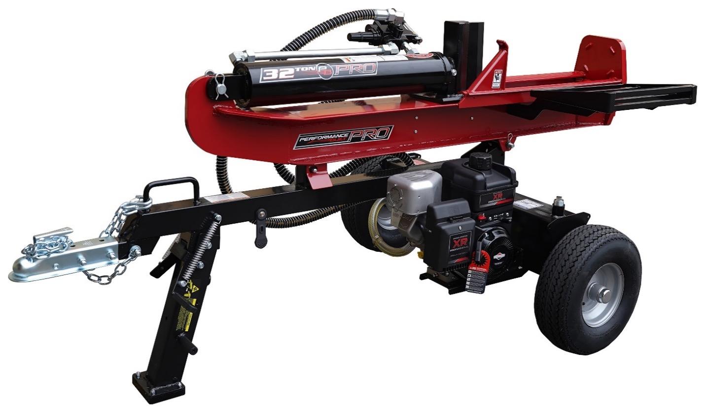 Recalled Performance Built Log Splitter (model number YTL-007-308)
