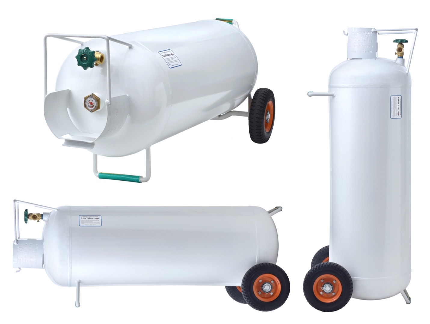 Recalled Hog 100-pound Propane Cylinder