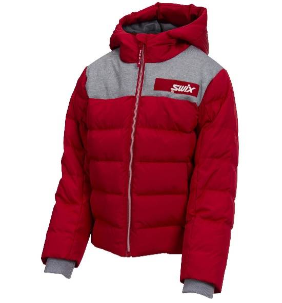 Recalled Swix branded Focus Down Jacket Jr. (Red)