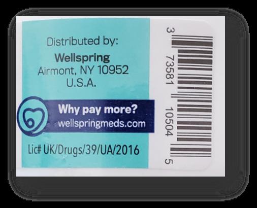Recalled Welmate Lidocaine Numbing Cream – UPC
