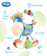 Recalled Playgro Clip Clop infant activity rattle —illustration
