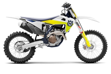 Recalled 2021 Husqvarna FC 250 motorcycle