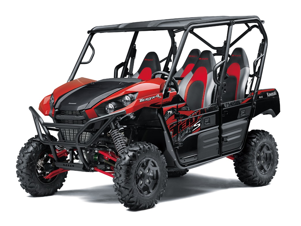 Recalled Model Year 2021 TERYX4 S LE RED – Model KRT800J