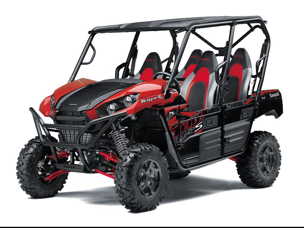 Recalled Model Year 2021 TERYX4 S LE RED – Model KRT800J