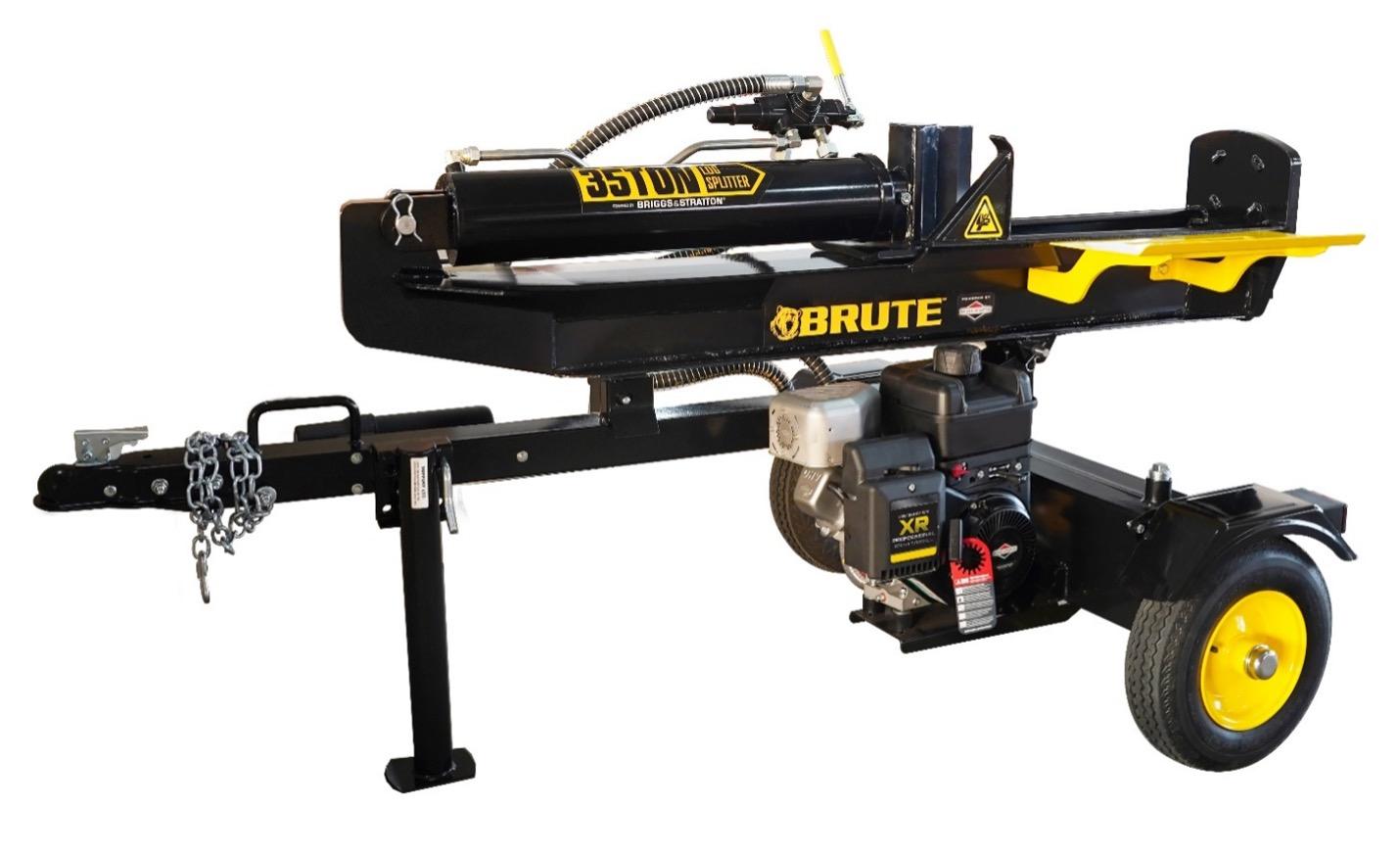 Recalled Brute Log Splitter (model number YTL-140-743 - 35 ton)