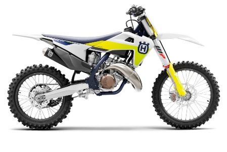 Recalled 2021 Husqvarna TC 125 motorcycle